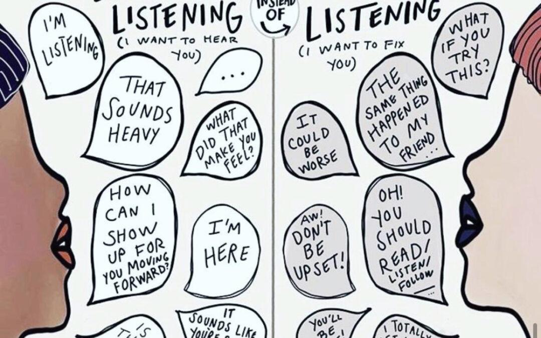 Empathic vs Dismissive Listening